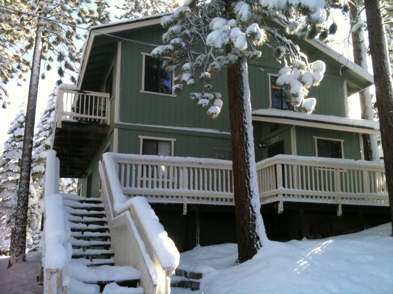 Home Exterior in Winter